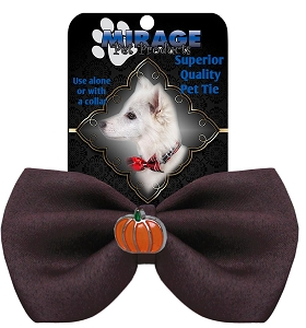 Pumpkin Widget Pet Bowtie Brown